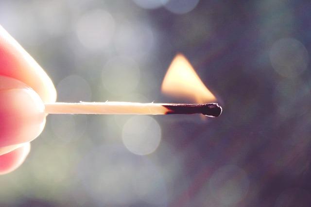 match fire photo