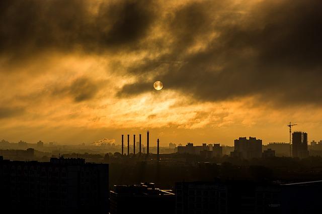 factory chimney photo