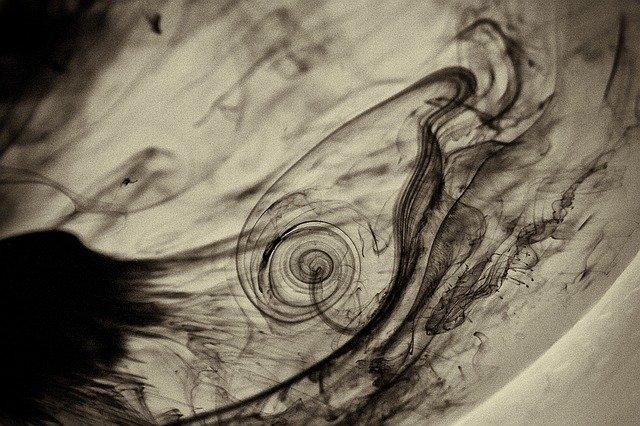 ink water black photo