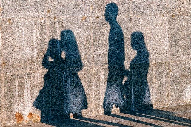 wall shadow photo